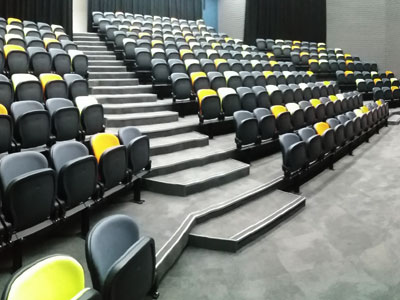 Collingwood College Melbourne auditorium seating project
